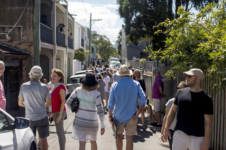 20 February 2021: COVID-19 has done nothing to dampen Australians' enthusiasm for property. (Photographer: Brent Lewin/Bloomberg)