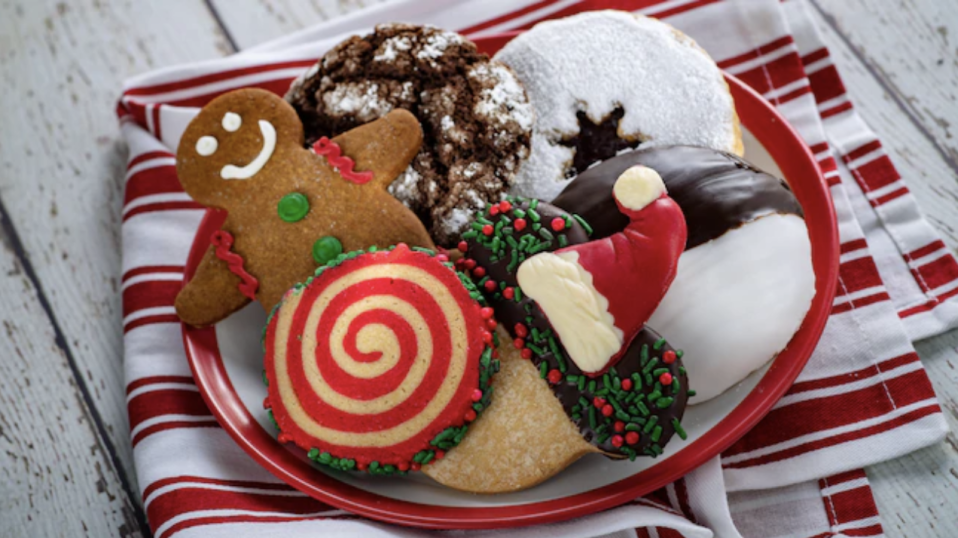 Celebrate the holidays and satisfy your sweet tooth, with the Holiday Cookie Stroll at Epcot. (Disney)