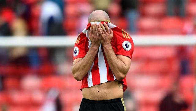 <p>To put it simply, if there was a choice between playing with 10 men or playing with 11 men including Darron Gibson the former would be the preferred option for most Sunderland supporters. </p> <br><p>Not only does the 29-year-old have the same levels of cardiovascular fitness to that of an old aged pensioner, the Republic of Ireland international's passing ability would suggest has has the eyesight of one also. </p> <br><p>The Derry-born midfielder does not add a single positive aspect to the Black Cats' game, and the sooner the former Everton flop is away from Wearside the better.</p>