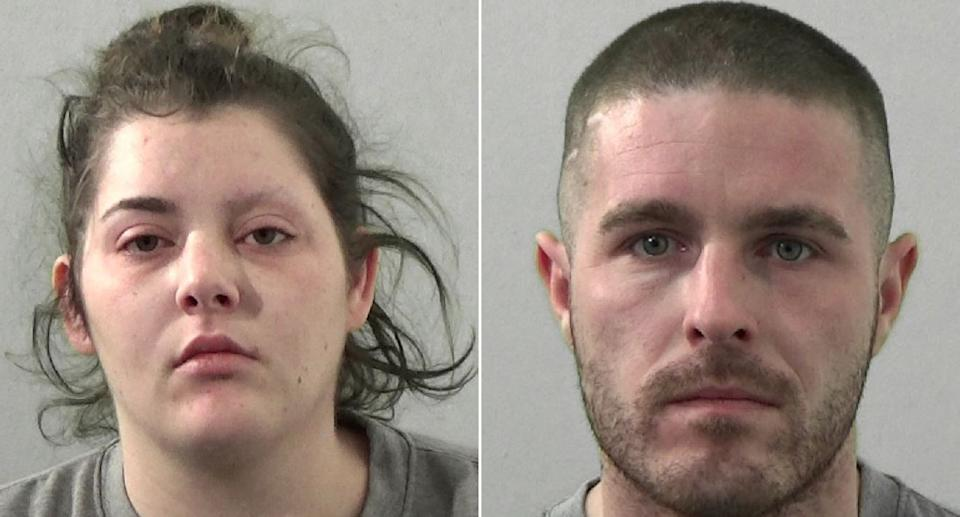 Chelsea Wilson-Ford and Jamie Barker were also involved in the horrific attack. (Northumbria Police)