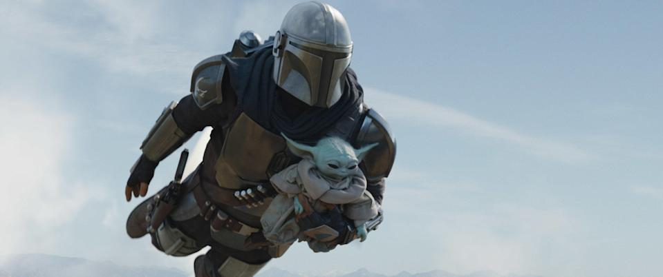 "<p>It's not just for Star Wars fans! <em>The Mandalorian</em> is a Western, a superhero story, and a father-son adventure. You've surely seen all the Baby Yoda memes…why not find out what his deal actually is? Spoiler: his deal is being a cute baby.</p> <p><a href=""https://cna.st/affiliate-link/dFXfBmxeUoMhFmiLTN8bpqZwB68RXEwQsYCYXtbbxWnkdew2nMTVA99cm9AVWtLVGYnZsnY8j3kYhFEWFwPpYbJRjf1SKYp7aoqmyU3yrBgP9ckGrE62E7U2KovB?cid=602d295863ef14de644d9a0b"" rel=""nofollow noopener"" target=""_blank"" data-ylk=""slk:Watch now on Disney+"" class=""link rapid-noclick-resp""><em>Watch now on Disney+</em></a></p>"