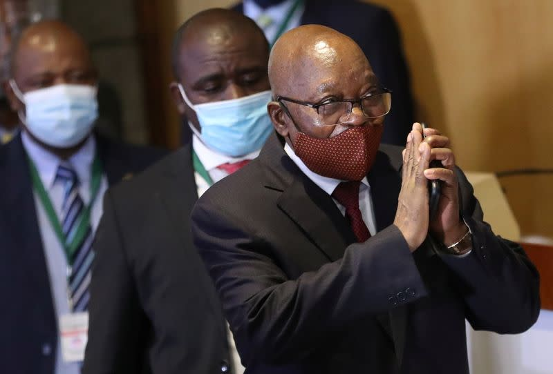 FILE PHOTO: South Africa's former president Zuma to appear before commission of inquiry into state corruption