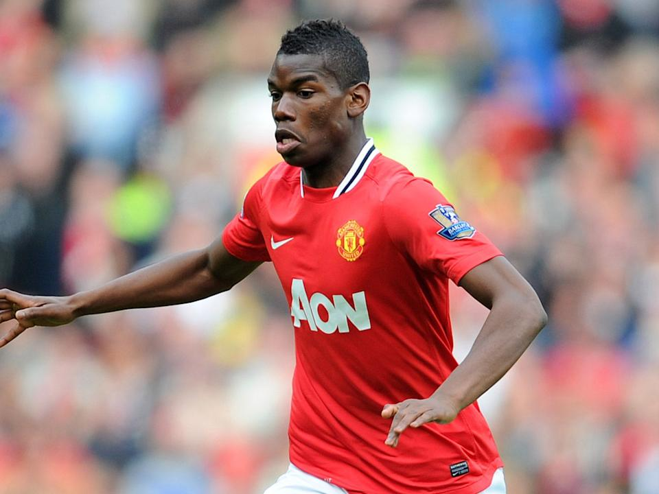 Paul Pogba in action for Manchester UnitedGetty Images