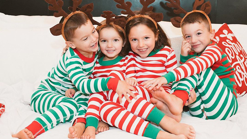 Stock up on jammies for the holidays with deep discounts on Hanna Andersson sleep sets.