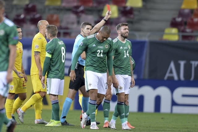 Romania Northern Ireland Nations League Soccer