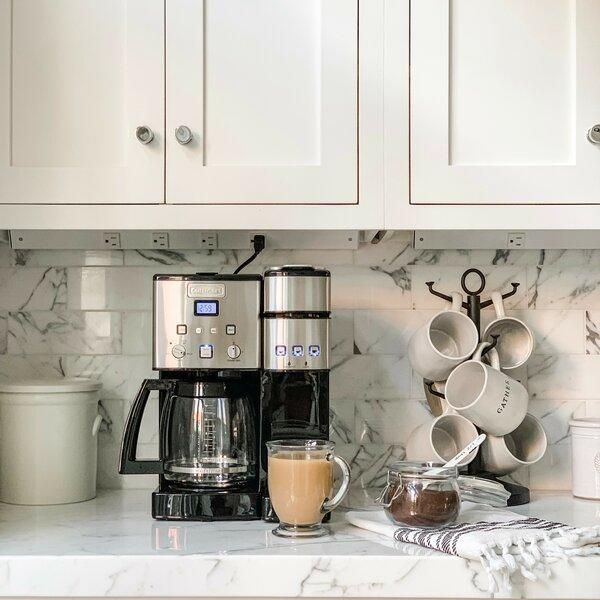 The Cuisinart Coffee Center promises to brew café-quality coffee at home