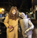 """<p>You may not be in Kansas this Halloween, but these DIY Cowardly Lion and Tin Man costumes will transport you to a technicolor time.</p><p><a class=""""link rapid-noclick-resp"""" href=""""https://www.amazon.com/Lion-Costume-Cowardly-Mane-Simba/dp/B012YAHNMG/?tag=syn-yahoo-20&ascsubtag=%5Bartid%7C10072.g.27868801%5Bsrc%7Cyahoo-us"""" rel=""""nofollow noopener"""" target=""""_blank"""" data-ylk=""""slk:SHOP WIG"""">SHOP WIG</a></p>"""