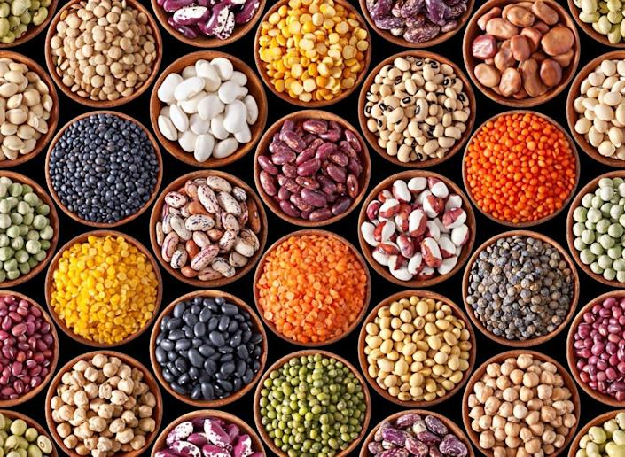 Beans legumes and pulses