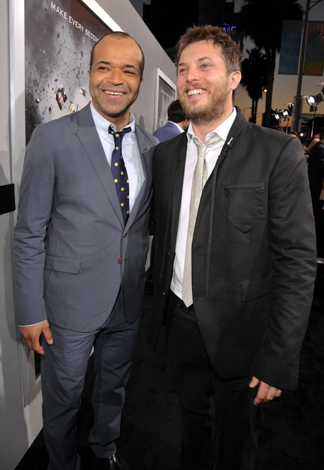"<a href=""http://movies.yahoo.com/movie/contributor/1800020494"">Jeffrey Wright</a> and <a href=""http://movies.yahoo.com/movie/contributor/1810079690"">Duncan Jones</a> attend the Los Angeles premiere of <a href=""http://movies.yahoo.com/movie/1810150340/info"">Source Code</a> on March 28, 2011."