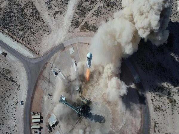 Amazon founder Jeff Bezos and his crew successfully completed a spaceflight (Photo Credit- CNN)