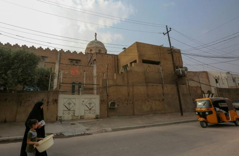 Churches across Baghdad have shuttered, including the Holy Trinity Church in the Baladiyat district, closed to regular services for four years
