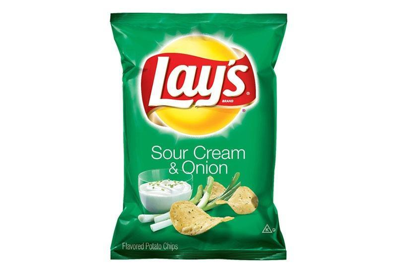 lays sour cream and onion