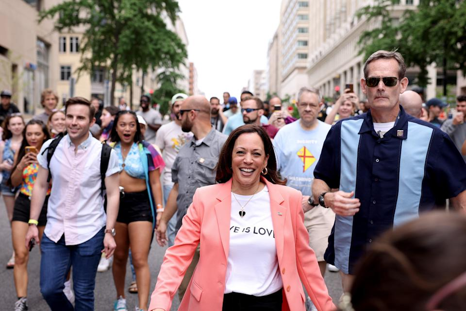 """<h1 class=""""title"""">Vice President Harris Joins Pride Parade In Washington, DC</h1><cite class=""""credit"""">Getty</cite>"""