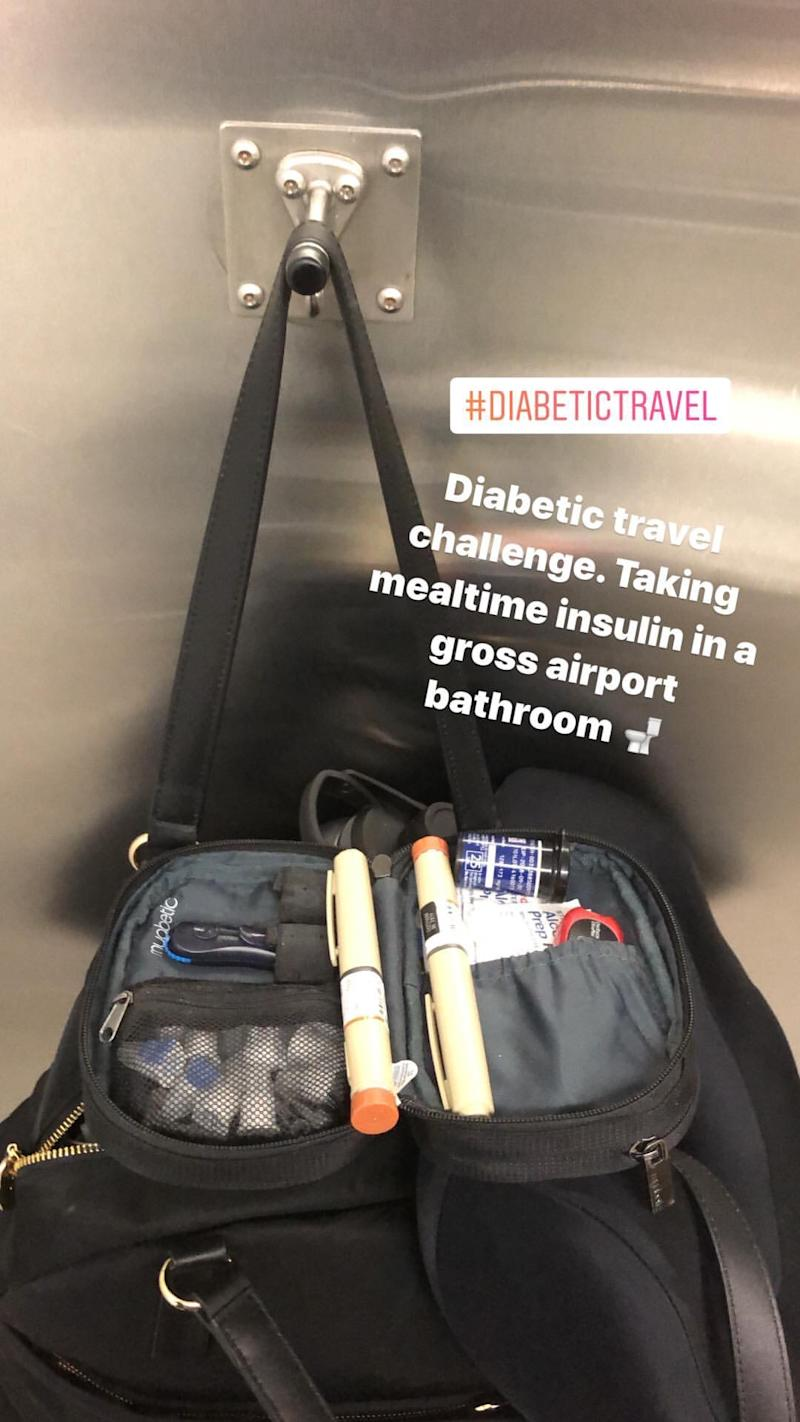 traveling with type 2 diabetes.