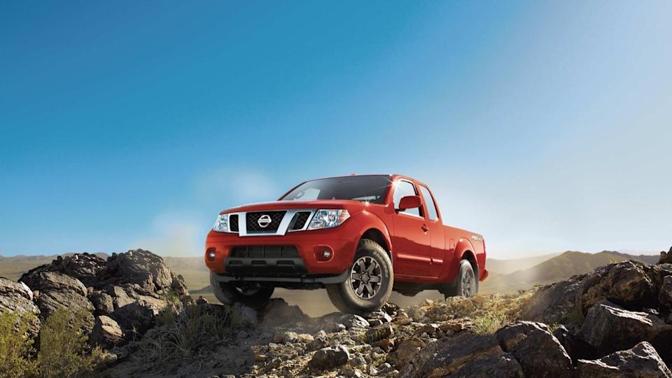 <p>Number 9: <strong>Nissan Frontier</strong><br> Average 5-year depreciation percentage: <strong>39.5%</strong></p> <p>While we weren't surprised to see the Subaru WRX in 10th place, the Nissan Frontier in 9th initially left us scratching our heads. The Frontier isn't currently a competitive product, and it hasn't been for the last few years. But then we remembered that this list represents vehicles five years old, back when mid-size pickup production wasn't nearly as prolific as it is today. Couple that pent-up demand for right-sized trucks with what we have to imagine were comparatively reasonable retail prices back when these trucks were sold new and you have a recipe for solid resale value.</p>
