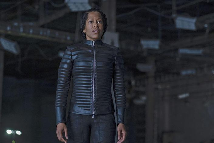 <p>King starred as protagonist Detective Angela Abar, a.k.a. Sister Night, in the 2019 superhero HBO limited series<em> Watchmen</em>, which is based on the 1986 DC Comics series. The show collected several Emmys, including King's win for outstanding lead actress in a limited series or movie, and was applauded for highlighting historical events, such as the 1921 Tulsa Race Massacre, and dissecting topics surrounding race and white supremacy. </p>