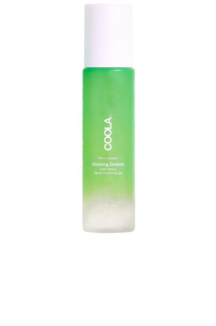 <p>The <span>Coola Glowing Greens Detoxifying Facial Cleansing Gel</span> ($28) looks like a green juice, and that's because it's loaded with green superfoods like seaweed extract, which helps balance the skin, and celery extract, which is great for hydration.</p>