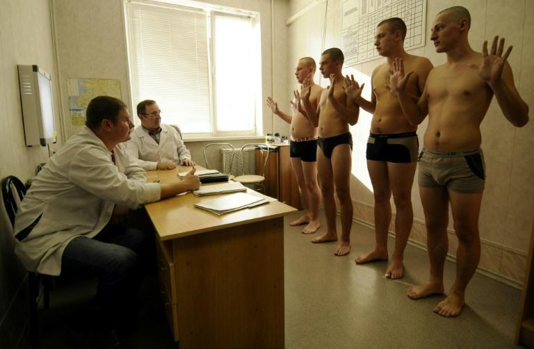 More than 250,000 men are conscripted into the Russian military each year
