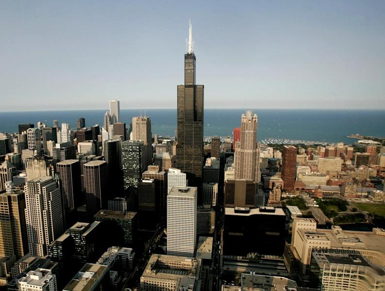 FILE PHOTO: The Sears Tower is shown in this aerial view of Chicago July 6, 2006...