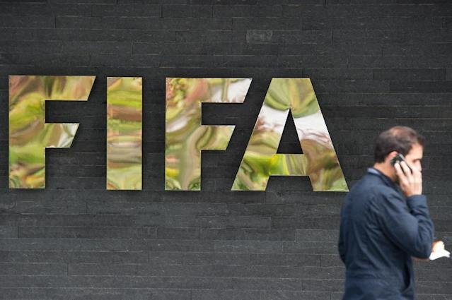 The six remaining FIFA officials wanted by the US Justice Department -- all from South America or the CONCACAF zone of North and Central America and the Caribbean -- have not yet agreed to be extradicted (AFP Photo/Sebastien Bozon)