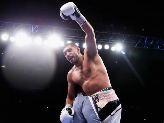 Khan beat Samuel Vargas last time out (Getty Images)