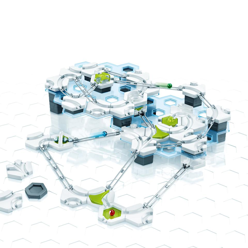 This toy allows kids to freestyle and build their own track design, then work out if the gravity spheres are stopping or flying off before reaching the end target. It's an innovative toy to encourage kids to get into STEM.<br />Price: £49.99