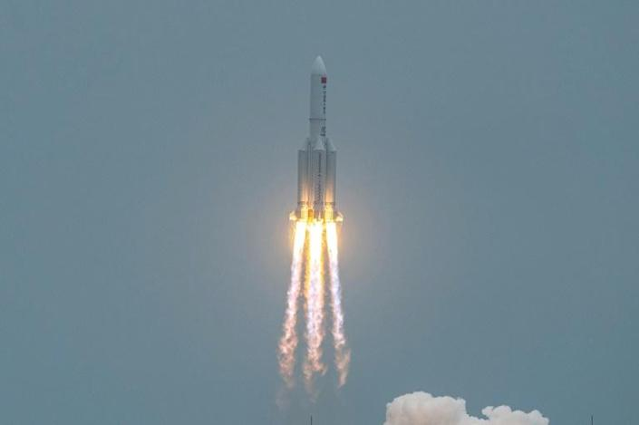 """On April 29, China launched the first module of its """"Heavenly Palace"""" space station"""