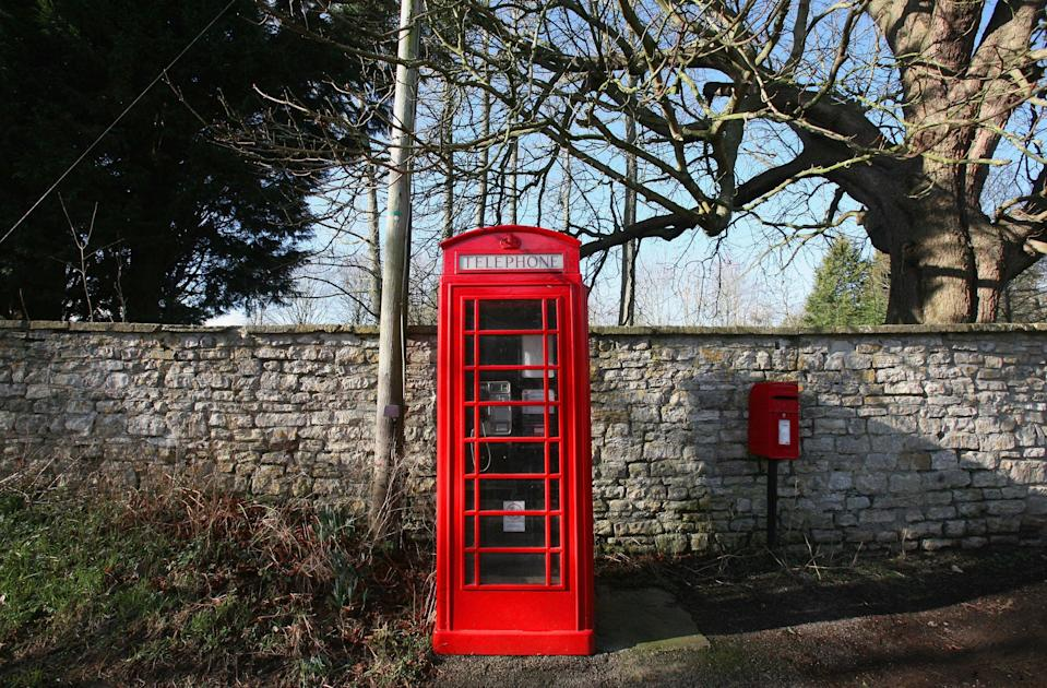 <p>Traditional red phone boxes are finding a new lease of life in Russia </p> (Getty Images)