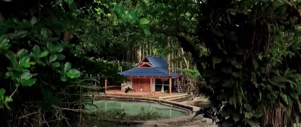 A first look at Bond 25 was also revealed in the livestream, showing what we think is Bond's island home. (YouTube)