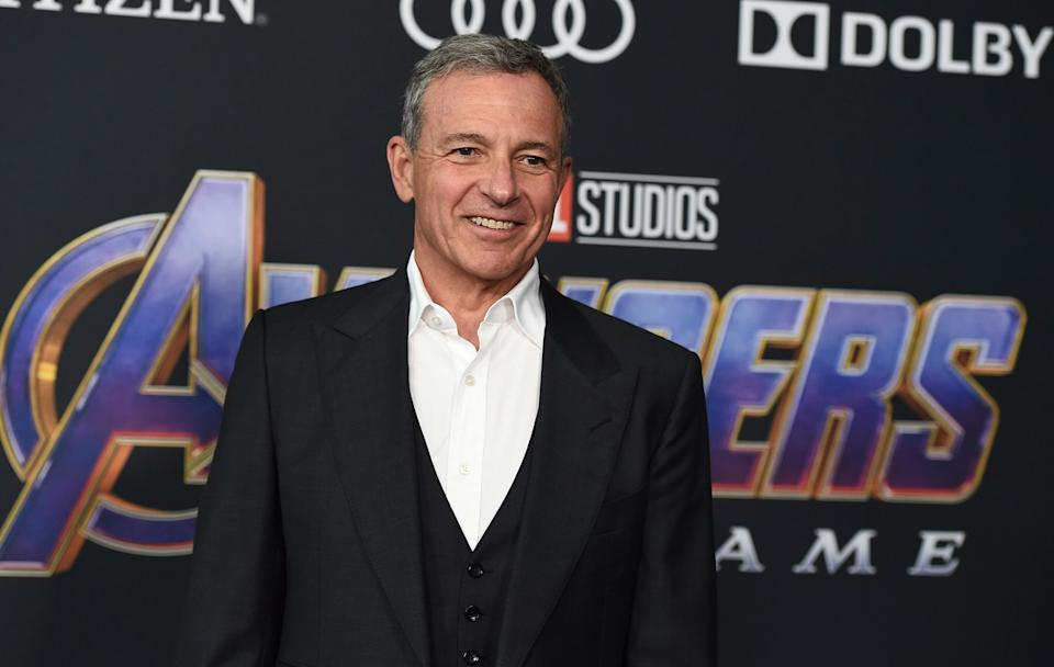 """Disney CEO Bob Iger arrives at the premiere of """"Avengers: Endgame"""" at the Los Angeles Convention Center on April 22, 2019. (Photo: Jordan Strauss/Invision/AP)"""