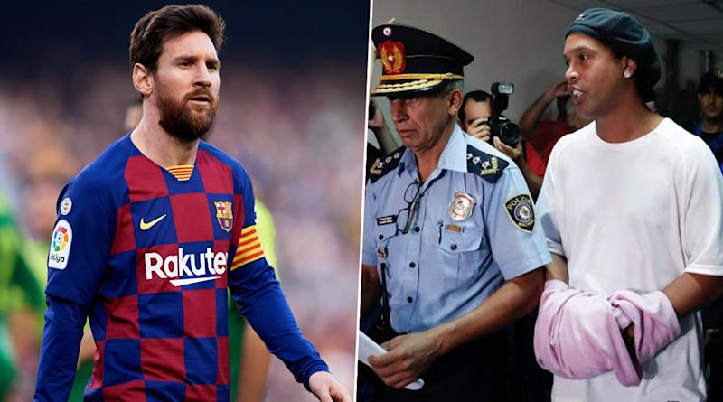 Lionel Messi Reportedly Ready 'To Spend Whopping Sum' to Bail Ronaldinho Out of Paraguay Prison