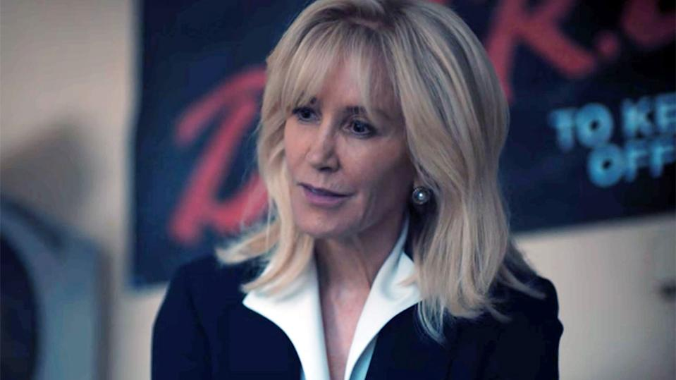 Felicity Huffman as Linda Fairstein in When They See Us (Credit: Netflix)
