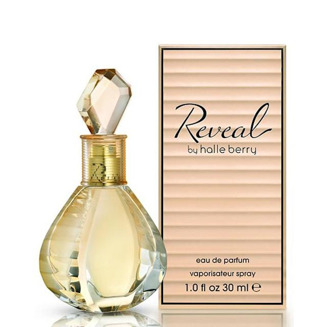 "<p><a href=""https://www.walmart.com/ip/Reveal-Eau-De-Parfum-Spray-Women-by-Halle-Berry-1-Ounce/151562597"" rel=""nofollow noopener"" target=""_blank"" data-ylk=""slk:Halle Berry's Reveal parfum"" class=""link rapid-noclick-resp"">Halle Berry's Reveal parfum</a> was her third fragrance and one of her most provocative. The sparkling scent has notes of iris, neroli, vetiver, cashmere, and musk. (Photo: Walmart) </p>"