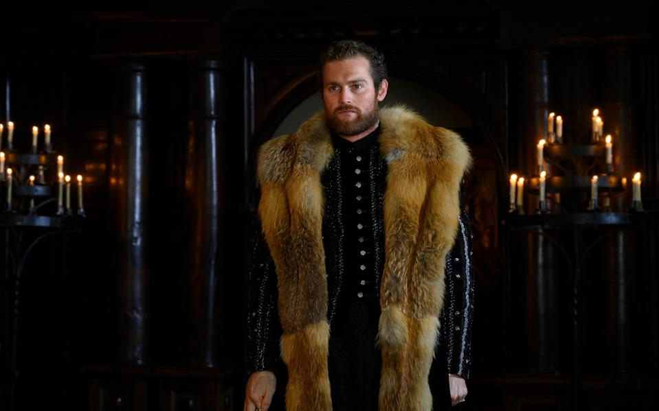 """The series sees Henry VIII """"going through a transitional period in his life"""" (PARISA TAGHIZADEH)"""
