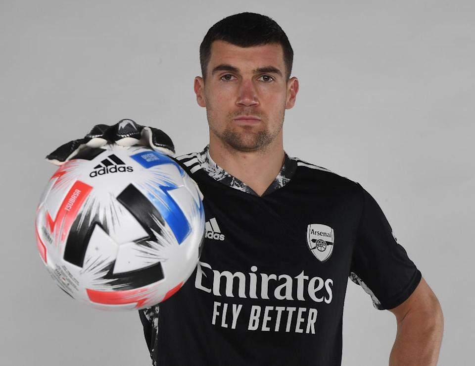 Arsenal unveil new loan signing Mat Ryan (Getty)