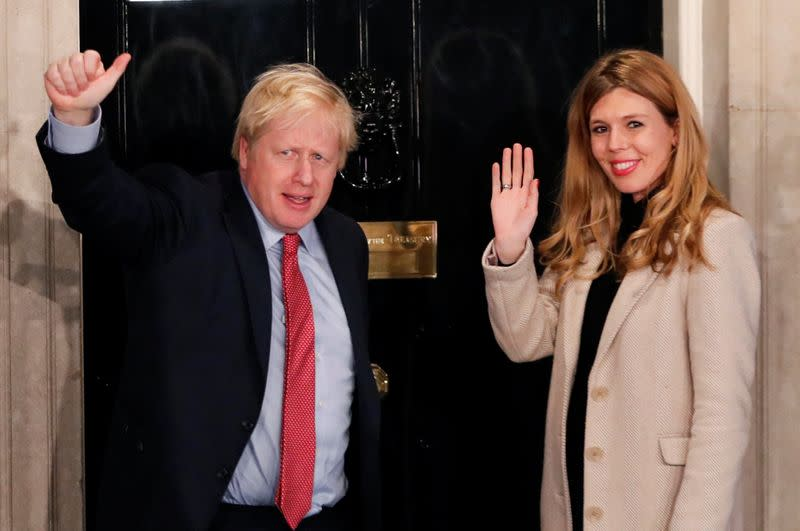 Johnson's baby power: PM and his girlfriend are expecting first child
