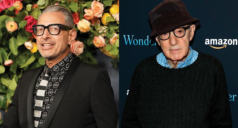 Jeff Goldblum says Woody Allen deserves due process, would consider working with him again