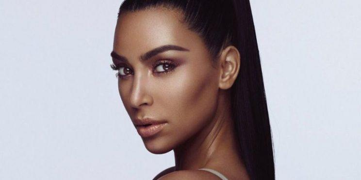 The promotional photo for Kim Kardashian West's KKW Beauty. (Photo: Kim Kardashian/Twitter)