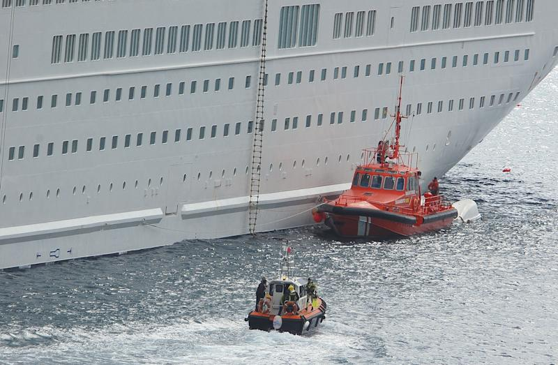 Cruise ship lifeboat accident kills 5 in Spain