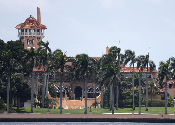 <p>President Donald Trump's Mar-a-Lago estate is shown in a Wednesday 10 July 2019 file photo, in Palm Beach, Florida.</p> ((Associated Press))