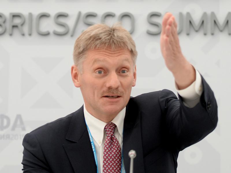 Mr Peskov said Russia wanted to deal with a stable government in the US, a 'predictable partner': Getty