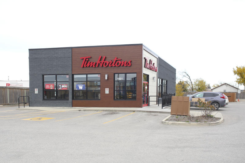 Winnipeg; Manitoba / Canada - October 8; 2019: Tim Hortons Store at Dugald Road.