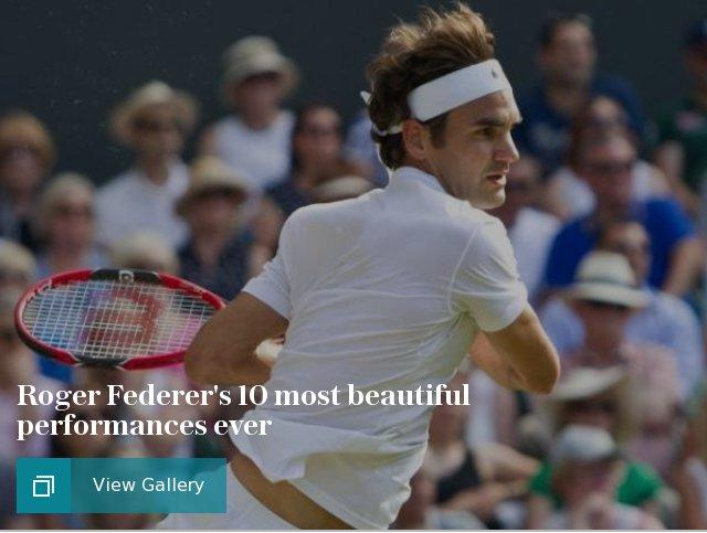 Roger Federer's 10 most beautiful performances ever