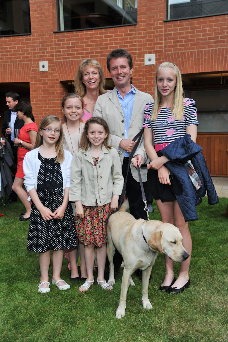 Nicky Campbell and family attend the 2011 The Dogs Trust Honours at Haberdasher's Hall on June 1, 2011 in London, England.  (Photo by Nick Harvey/WireImage)