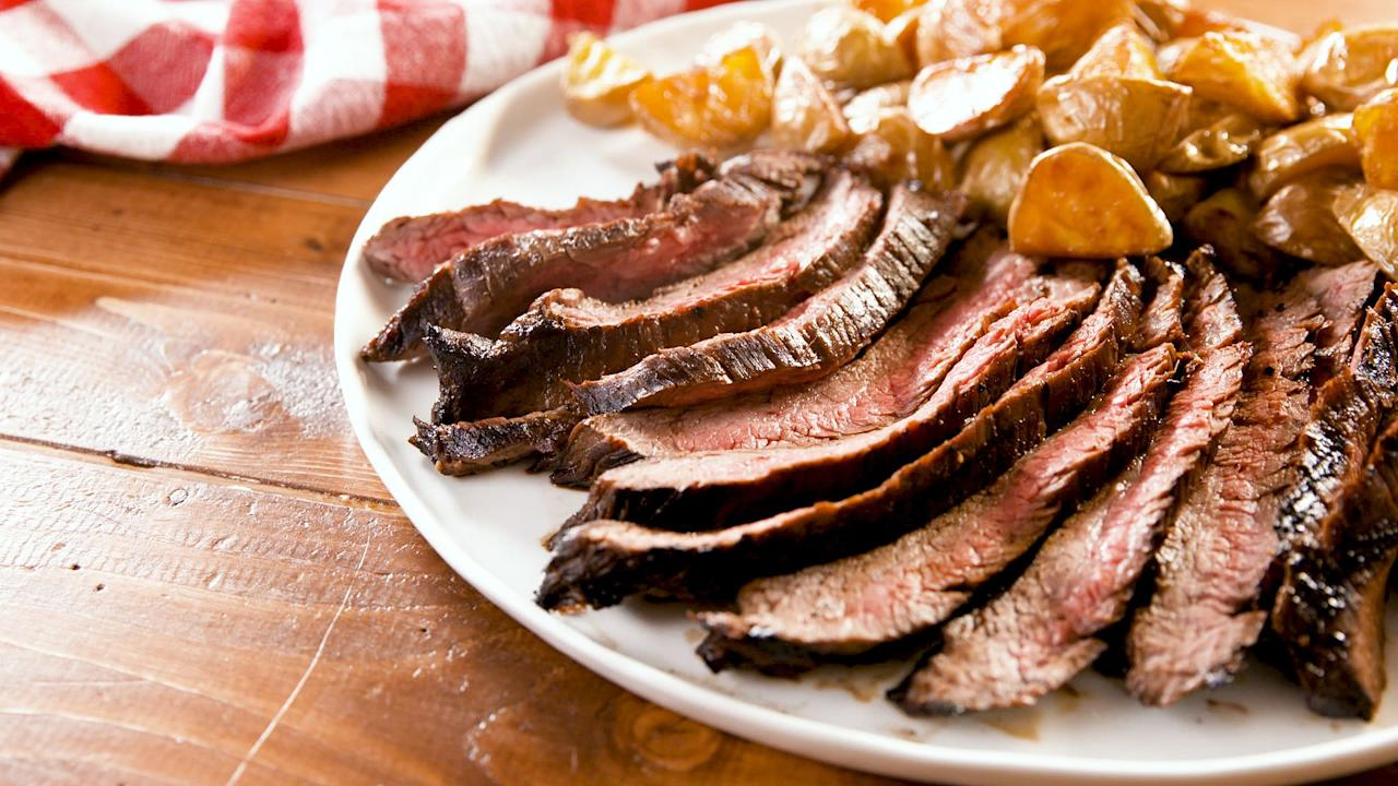 "<p>The best gift you can give Dad on Father's Day is a full stomach. Whether he's a meat and potatoes guy, wants something from the grill, or is more of a seafood fan, we've got you covered. Need more ways to impress your pop? Try these <a href=""http://www.delish.com/holiday-recipes/g3385/fathers-day-cakes/"" target=""_blank"">Father's Day cakes</a> and <a href=""http://www.delish.com/holiday-recipes/g2473/fathers-day-brunch-recipes/"" target=""_blank"">brunch recipes</a>.</p>"