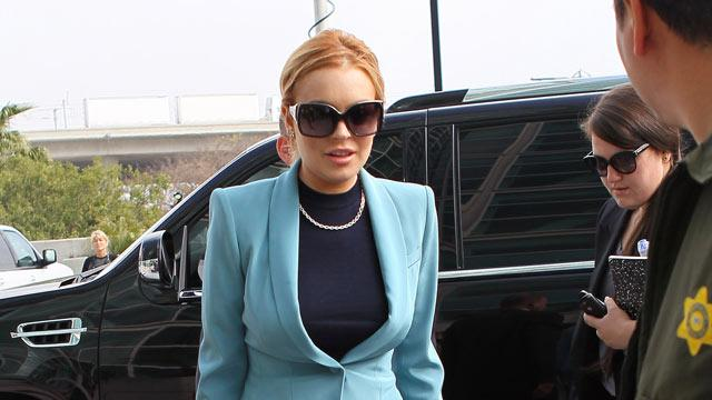 Lindsay Lohan Cleared of DUI Probation