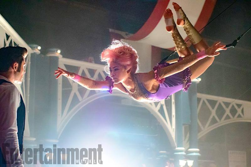 Zendaya in 'The Greatest Showman' (credit: 20th Century Fox/EW)