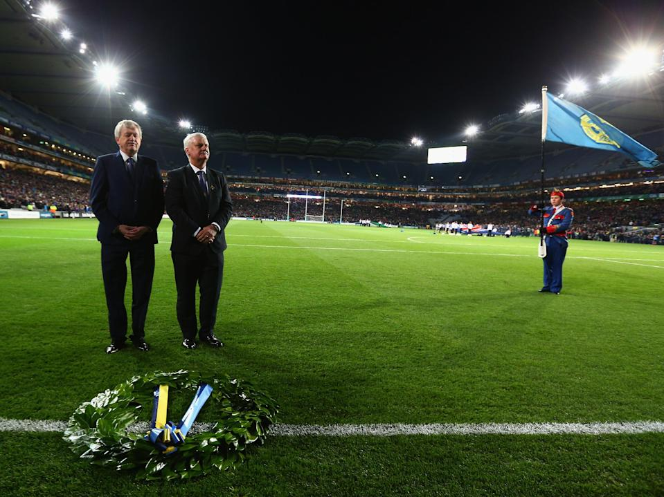 <p>The commemoration of the 95th anniversary of Bloody Sunday at Croke Park in 2015</p> (Getty Images)