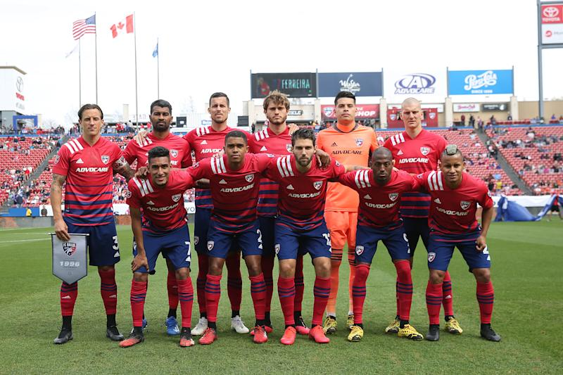 FC Dallas pulled out of the MLS is Back Tournament after at least nine players tested positive for the coronavirus. (Omar Vega/Getty Images)