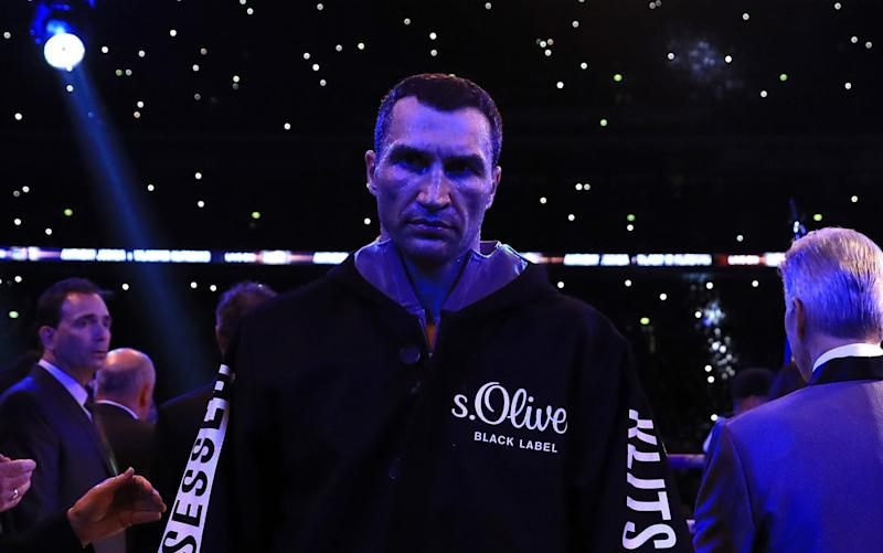 Wlad's Medusa stare - Credit: Richard Heathcote/Getty Images
